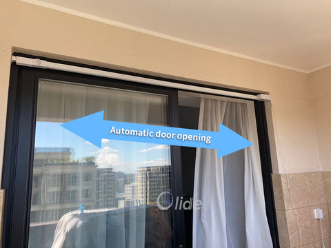 olide smart automatic household sliding door