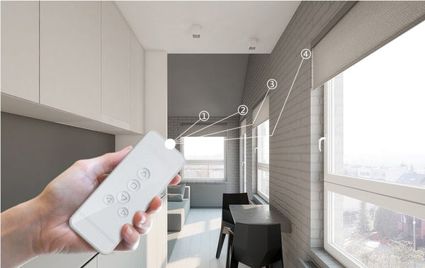 Automatic Electric Roller Blinds Shutters Curtain Motor