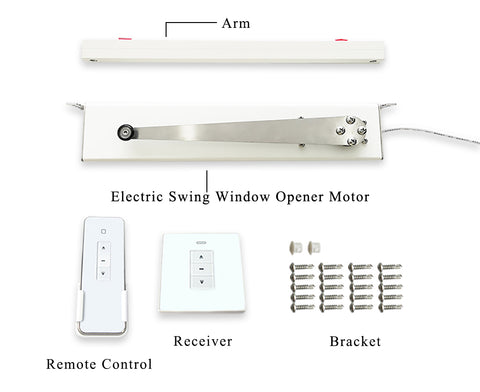 automatic swing open window opener