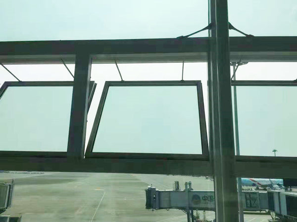 double chain window opener project in airport
