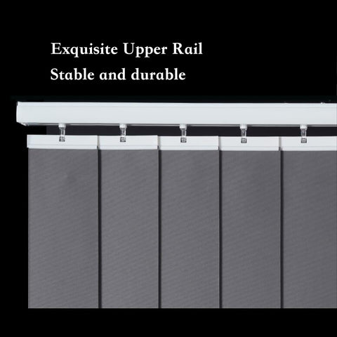 electric vertical blinds stable and durable rail