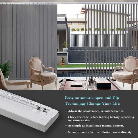 olidesmart electric vertical blinds motor features