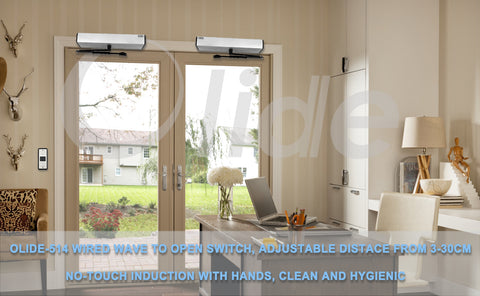 no touch automatic swing door opener home use