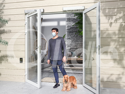 olidesmart automatic pet door opener