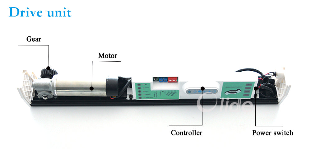 autoamtic sliding door closer