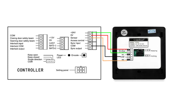 dsw120 automatic swing door opener with wifi switch wiring diagram