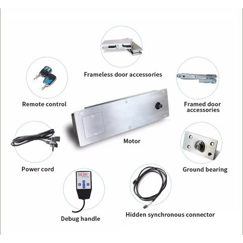 top concealed mounting electric swing door opener