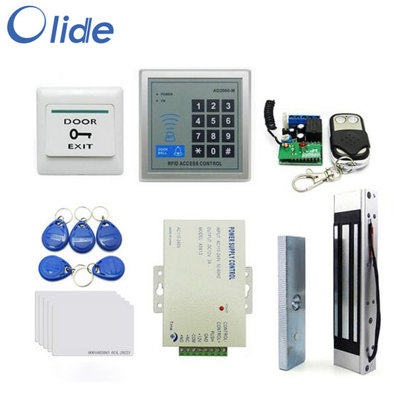card reader with push button Magnetic lock