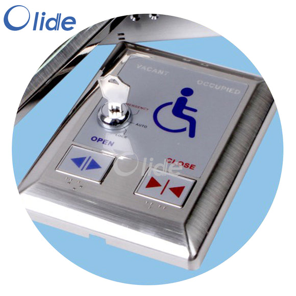 Automatic Door Push Switch for Disabled Toilet