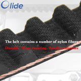 automatic drive sliding door system tooth belt