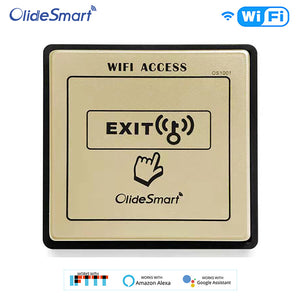 Olidesmart OS1001 Automatic Door Wifi Switch functions