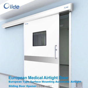 European medical airtight door