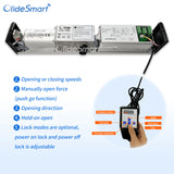 olide-120B automatic swing door opener hand programmer instruction