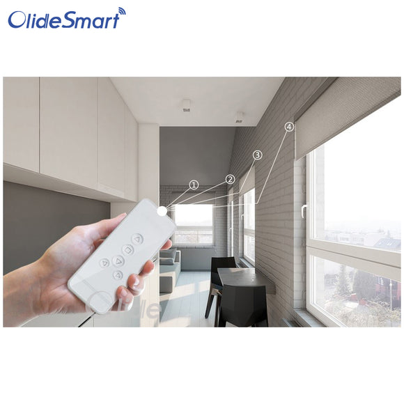 Olide Automatic Electric Roller Blind of Intelligent Curtain Kit