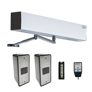 touchless automatic swing door operator with wireless slim wave to open switch