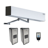touchless automatic swing door operator with wired slim wave to open switch
