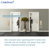 touchless handicapped automatic swing door for washroom