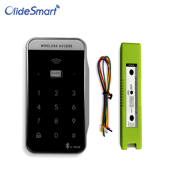 Olidesmart Wireless Card Reader For Automatic Door System