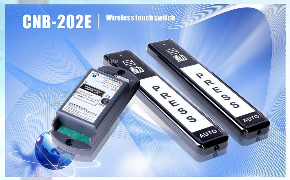 automatic door wireless touch switch 01