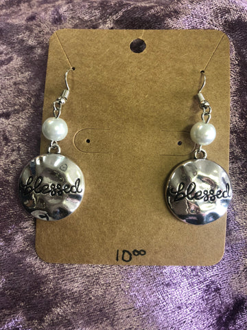 Blessed Dangle Earrings