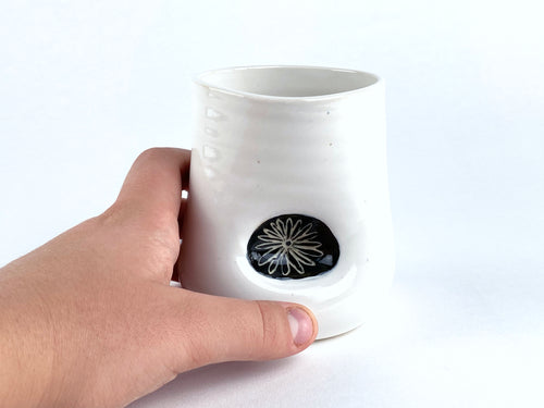 Aster Thumbprint Cup
