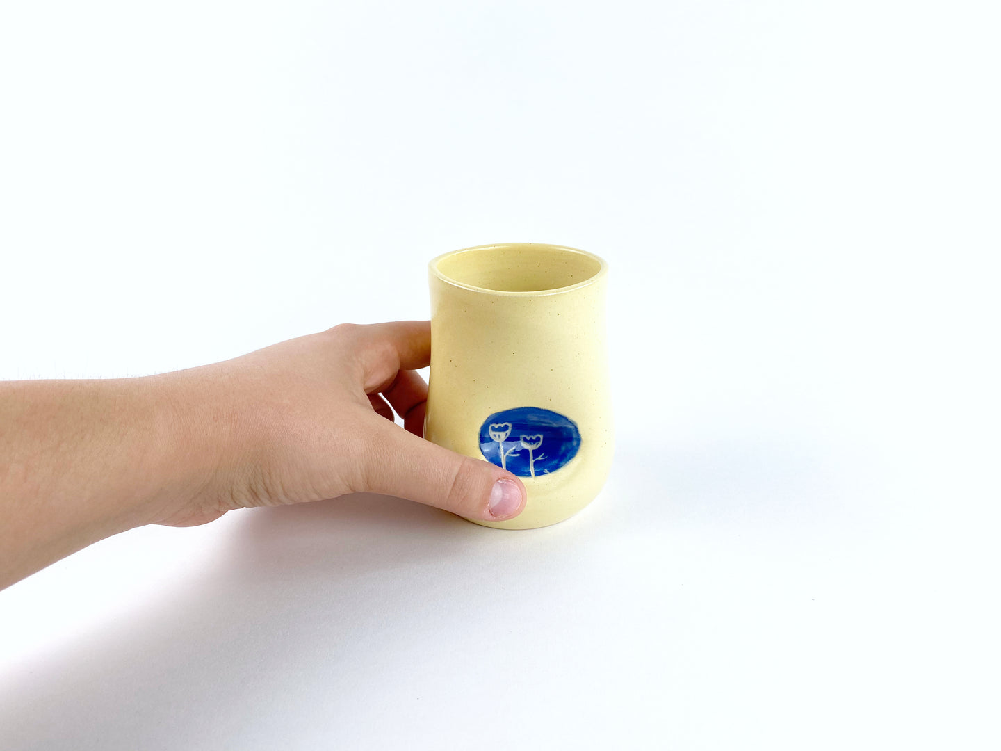 Buttercup Thumbprint Cup