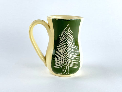 Evergreen Curve Mug