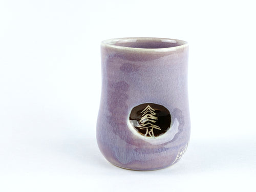 Evergreen Tree Thumbprint Cup