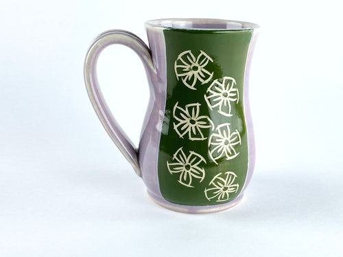 Forget Me Not Curve Mug