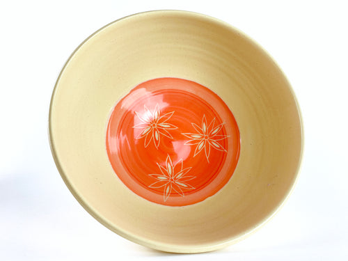 Poinsettia Serving Bowl