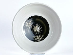 Floral Salad Bowls - group of 4