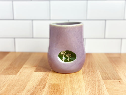 Rose Thumbprint Cup