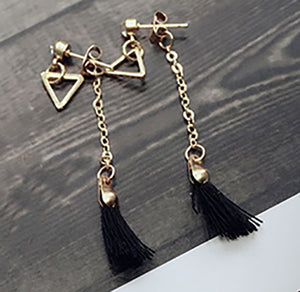 Tassle-drop Earring