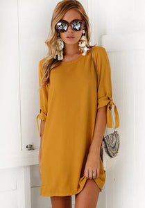 Capri Casual Short Dress