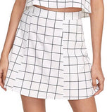 Jessica checkered mini skirt