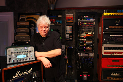 Michael Wagener with his White Kemper Profiler Head