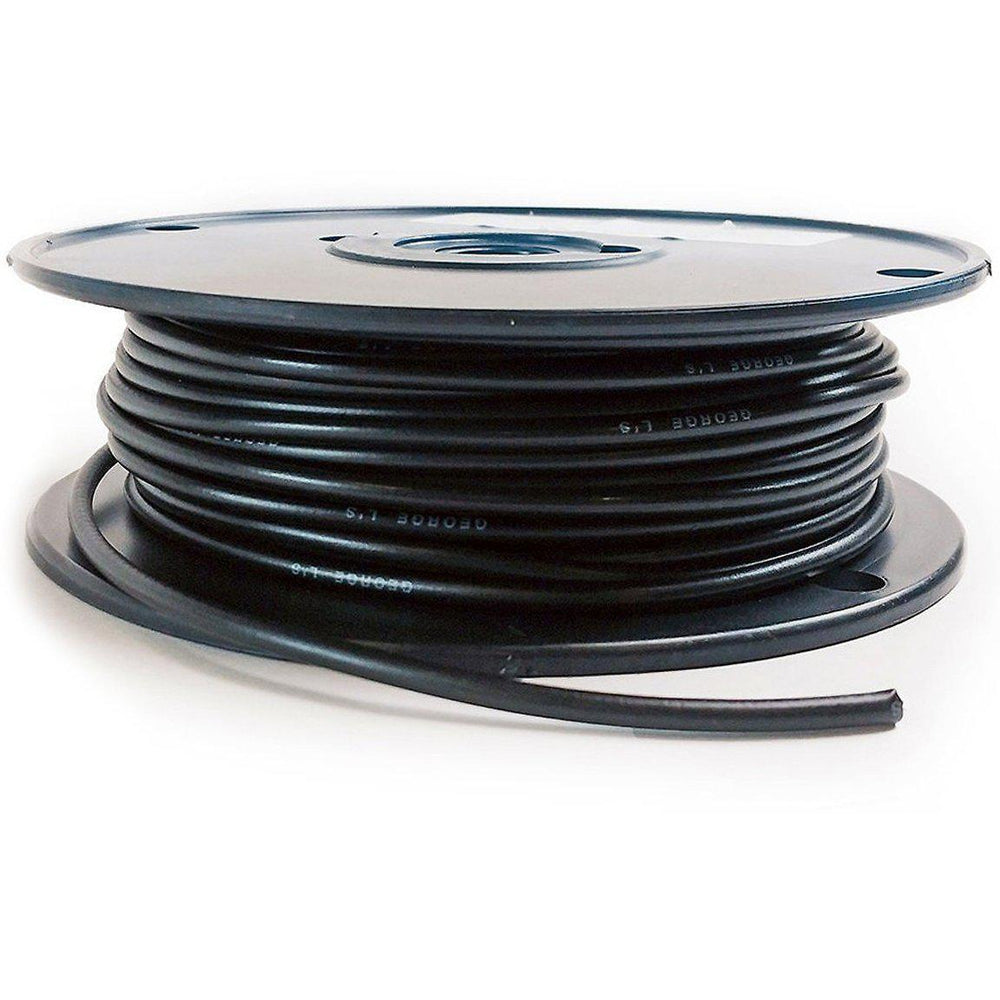 George L's .155 Cable by the foot - Black - British Audio