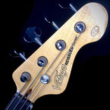 Vintage® V4SB 'Sunburst'  Bass Guitar - British Audio