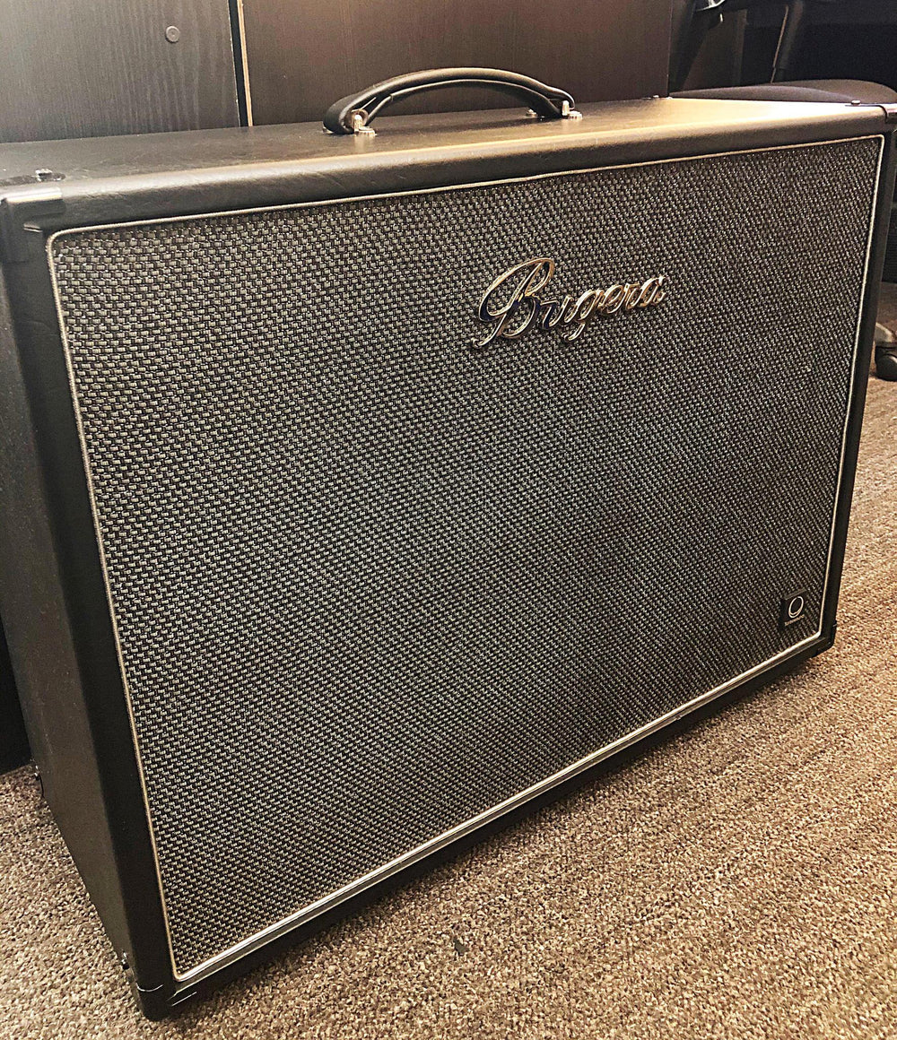 "Bugera 212TS 160-watt 2x12"" Extension Cabinet w/Turbosound Speakers Pre-Owned - British Audio"