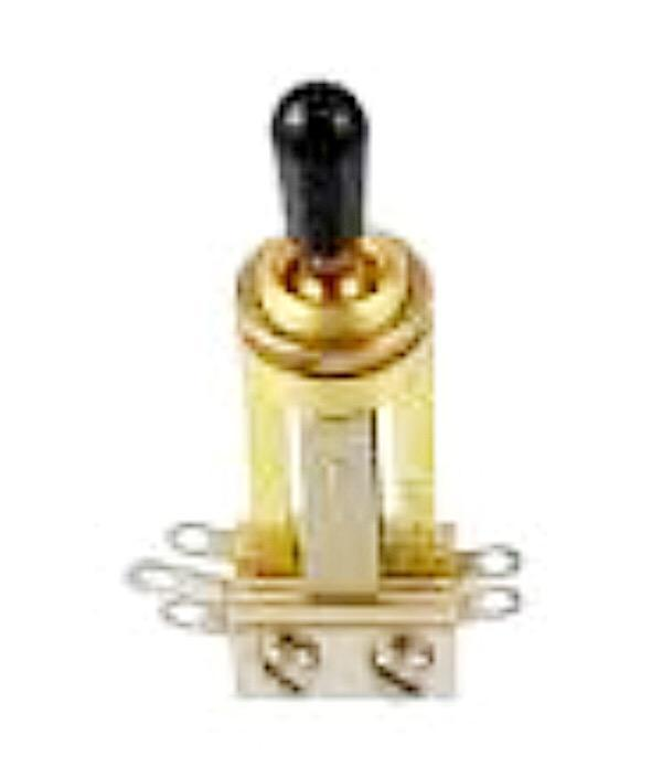 Switchcraft® Straight  Gold Toggle Switch Allparts EP-4367-002 - British Audio