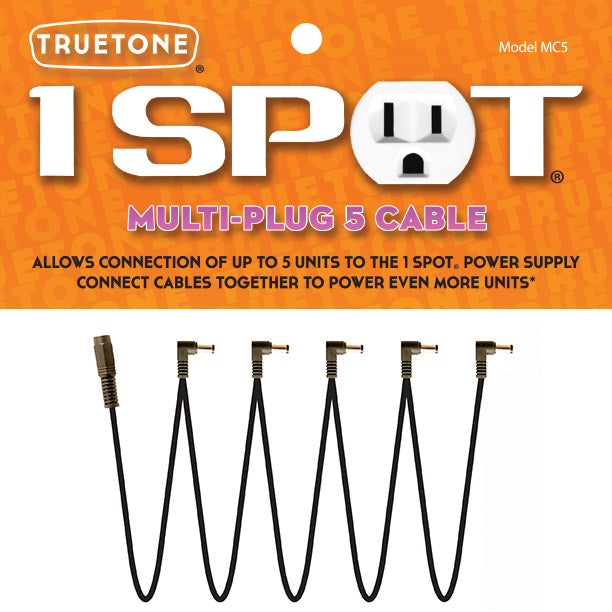 One Spot Multi-Plug 5 Cable