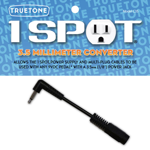 Truetone 1 Spot 3.5mm Converter - British Audio
