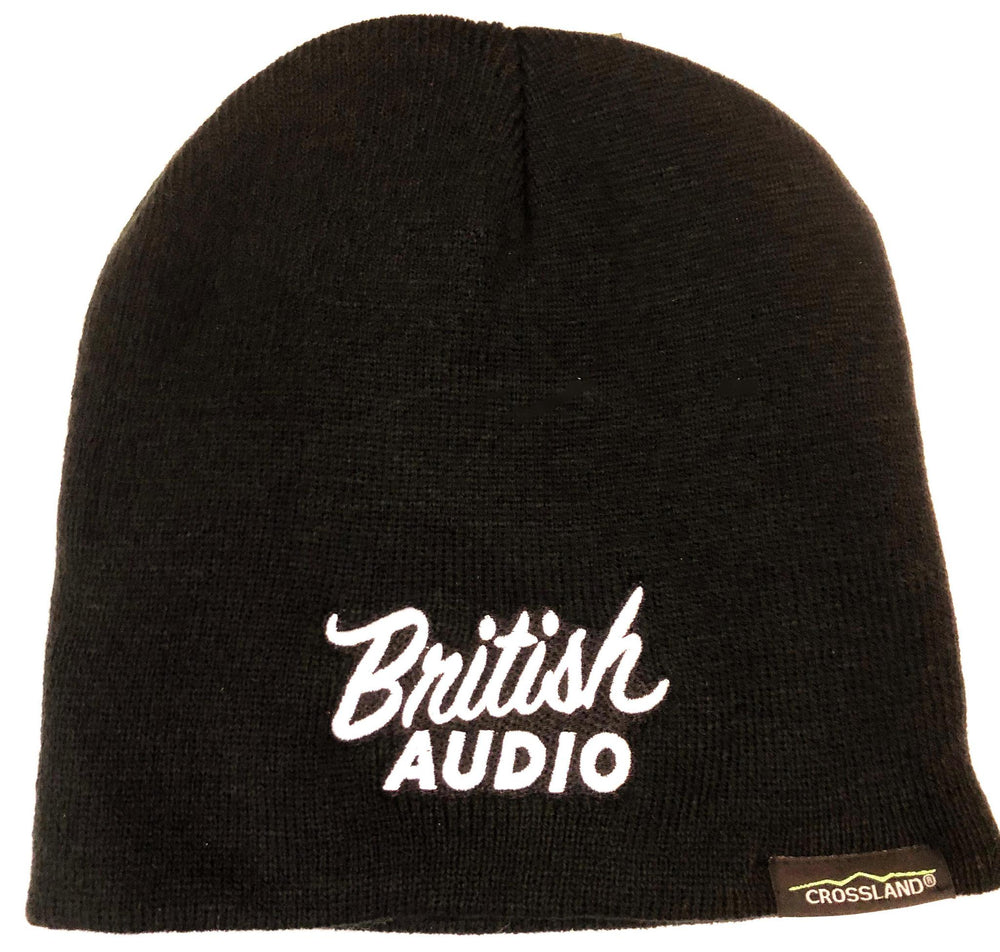 British Audio Knit Beanie Black - British Audio