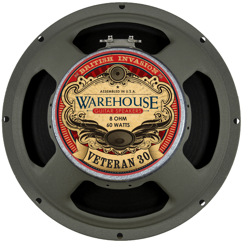 "WGS 12"" Veteran 30 - British Audio"