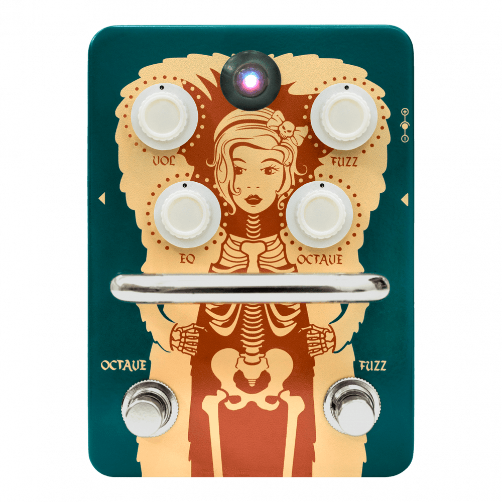 Orange Fur Coat Octave Fuzz - British Audio