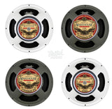 "Warehouse Speakers ~ WGS 12"" Veteran 30 + ET65 (4 x 12 Cabinet Bundle) X-Pattern"