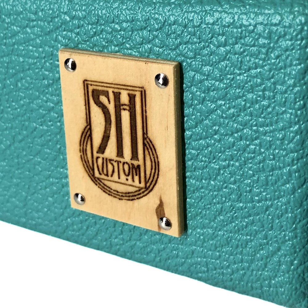 Sam Hill Custom Compact Teal Pedalboard