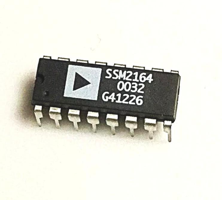 SSM2164 IC Analog Devices NOS Quad Voltage Controlled Amplifier (VCA) - British Audio