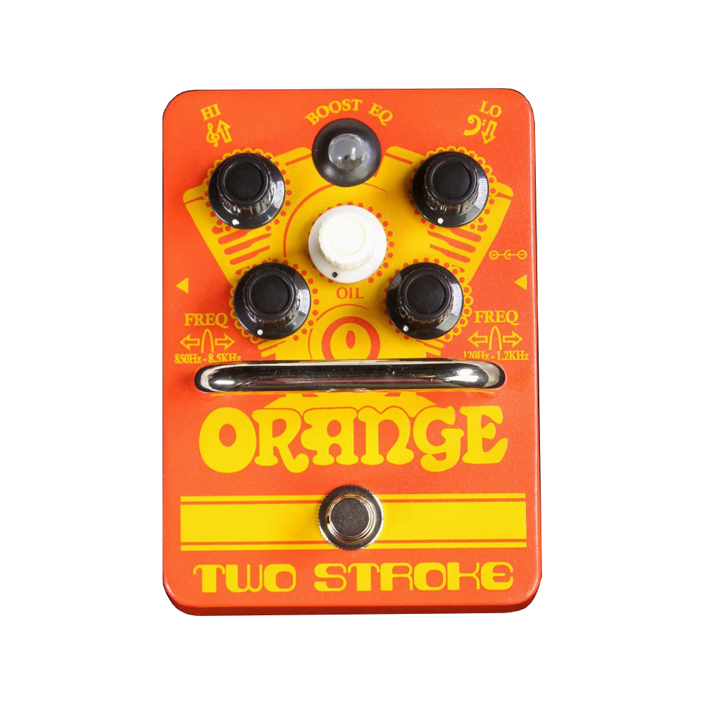 Orange Two Stroke - British Audio