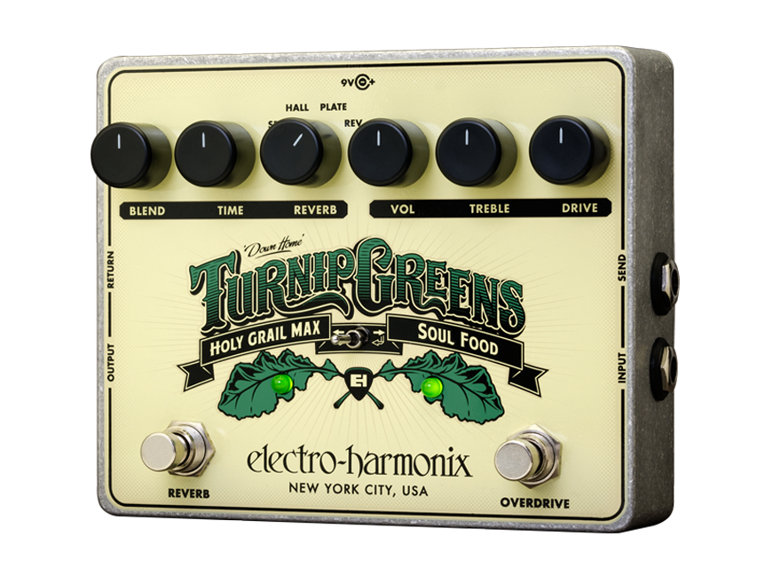 EHX Turnip Greens Multi-Effects Pedal - British Audio